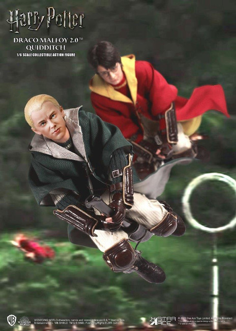 [SA-0017A] Star Ace Harry & Draco Malfoy 2.0 Quidditch Twin Pack 1:6 Figure