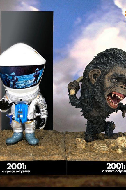 """[SA-6032] 6"""" Astronaut Sliver Rescue & The Man-Ape Twin Pack  By Star Ace"""