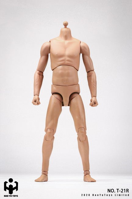 [HY-T21R] 1:6 Caucasian 2.0 Super Sportsman's Body by HY Toys