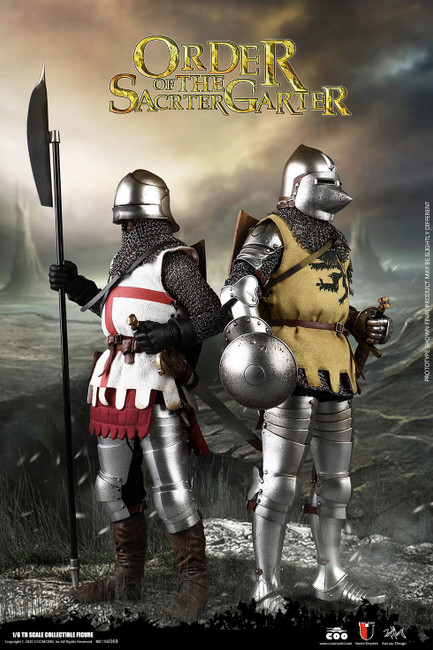 [CM-SE069] 1/6 Feudal Knight and Baron KnightThe Sacred Garter Twin Set by COO Model