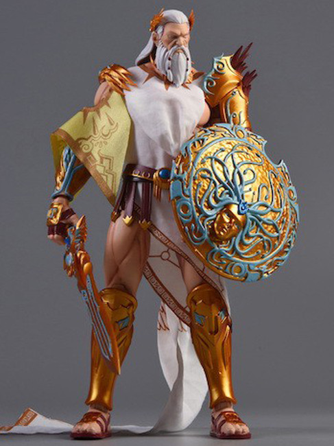 [MW-001] Morrowind 1:12 Gods of All Nations Zeus Action Figure