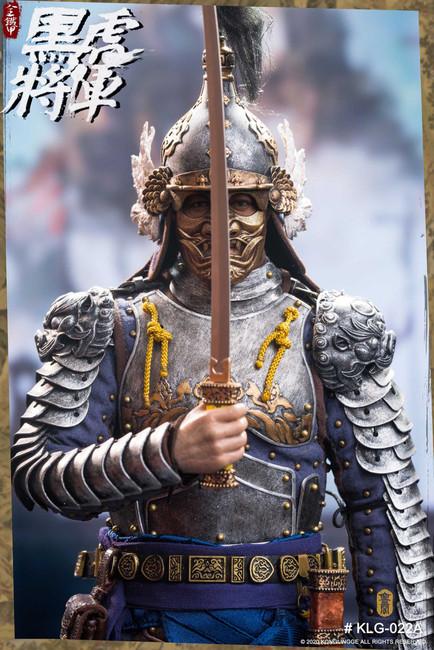 [KLG-R022A] KongLingGe 1/6  Black Tiger General Liu Ting