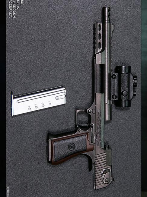 [DAM-EF024] DAM Toys Desert Eagle Set Black Elite Firearms Series
