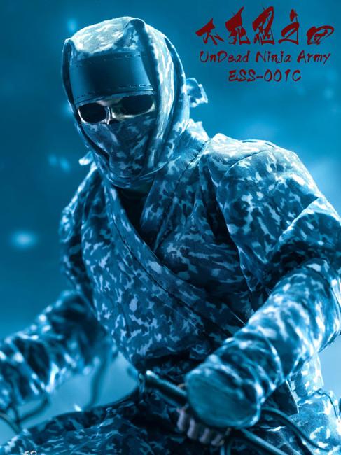 [ESS-001C] Ed Star 1/6 Undead Ninja Army Camo Version