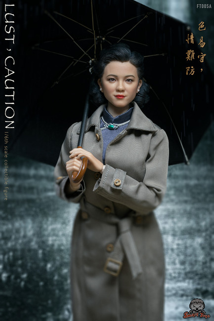 [STY-FT005A] SmartToys 1:6 Caution Tang Female Action Figure