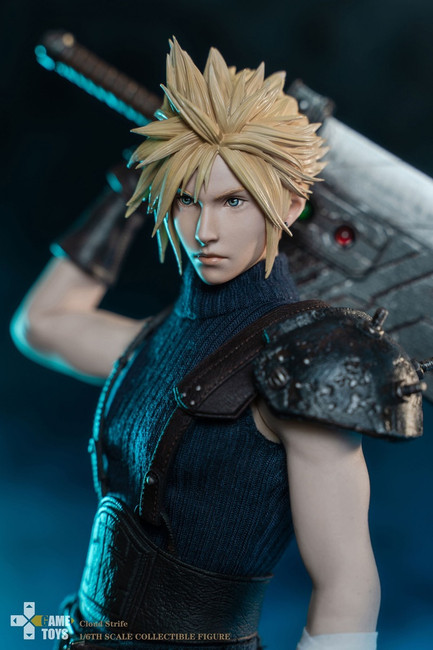 [GMT-002A] Game Toy 1/6 Fantasy Warrior Cloud Strife Normal Edition