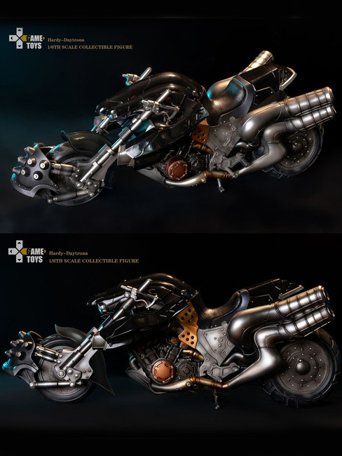 [GMT-002B] Game Toy 1/6 Fantasy Warrior Cloud Strife Moto Bike