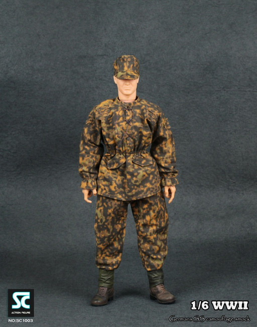 Soldier Country – WWII German SS Camouflage Smock (SC-1003)
