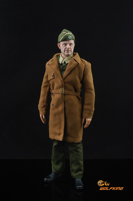 [WK-001] Wolf King WWII Allied Forces Supreme General Eisenhower Action Figure