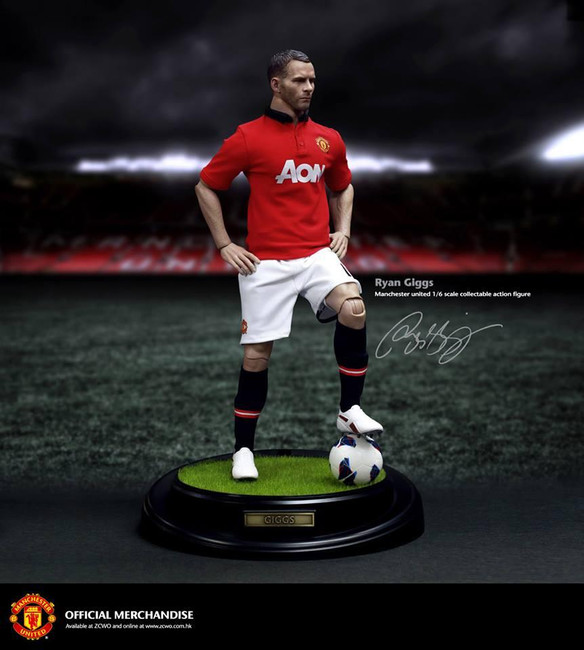 "[ZC-GIGGS] ZC World ACGHK2013 Exclusive Manchester United ""Ryan Giggs"""