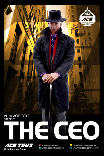 [AT-001] ACE THE CEO Action Figure Boxed Set