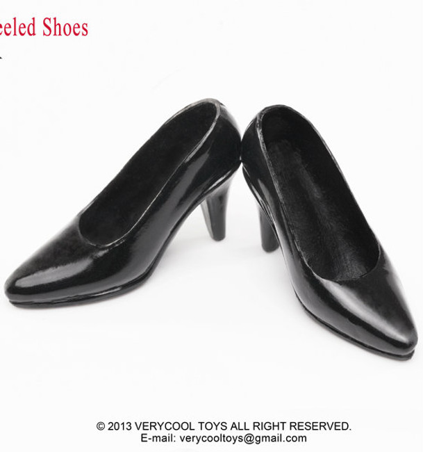 [VCF-2017A] Very Cool High-Heel Shoes in Black
