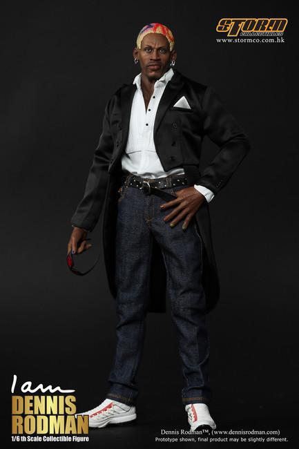 [SM-1401] Storm Collectables Dennis Rodman Collectible Figure Exclusive Standard