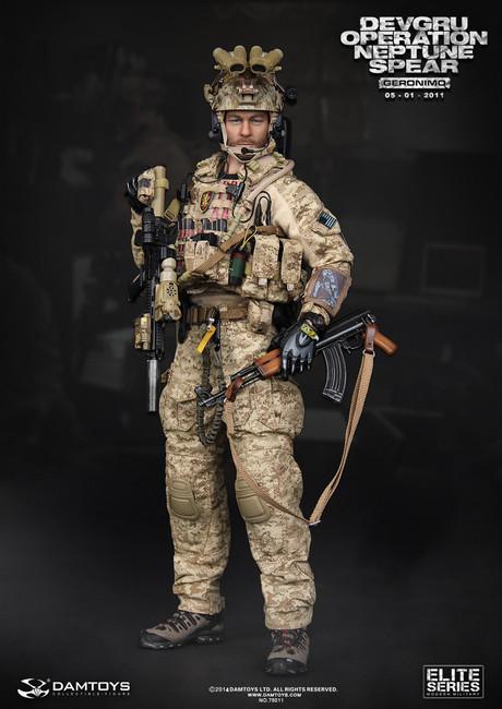 "[DAM-78011] DAMTOYS DEVGRU Operation Neptune Spear ""GERONIMO"""