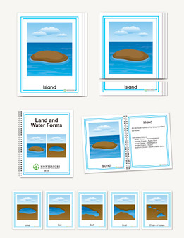 Land and Water Forms  Early Childhood - sku GP.02 - 1