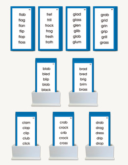 Consonant Blend Word Lists - sku LAP.06B - 1