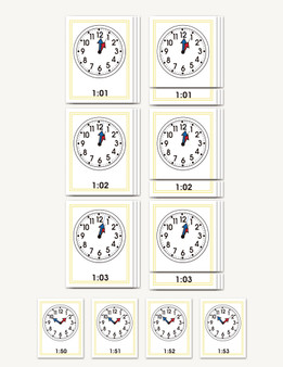 The Minute Clock - sku TP.02 - 1
