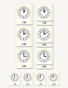 The Hour Clock - sku TP.01 - 1