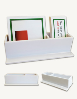 Language Arts Double Display Container - sku DC.04 - 1