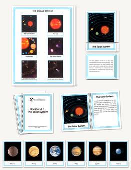 The Solar System, Elementary - sku AE.01 - 1