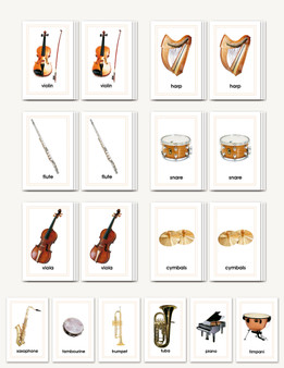 Picture Matching- Orchestra Instruments - sku LAP.41 - 1