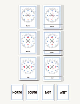 Compass Nomenclature Cards - sku GE.15 - 1