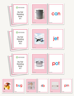 Phonic Single Word Booklets - sku LAP.05 - 1