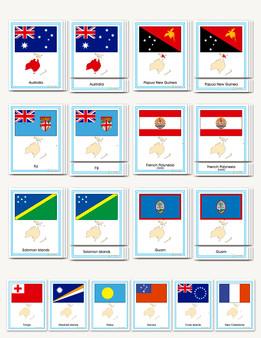 Flags of Oceania - sku GP.51 - 1