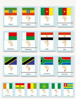 Flags of Africa - sku GP.60 - 1