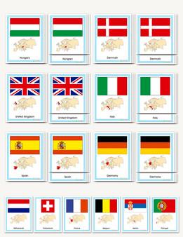 Flags of Europe - sku GP.30 - 1