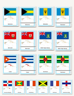 Flags of the Caribbean - sku GP.13 - 1