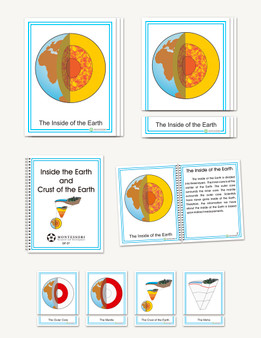 Layers and Crust of the Earth, Early Childhood - sku GP.07 - 1