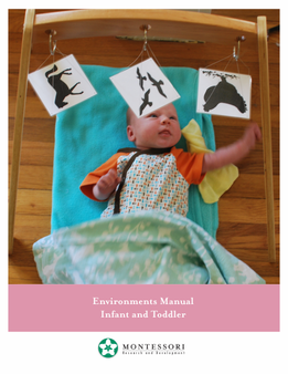 Environments for the Infant-Toddler Teacher Manual - sku MIT.E - 1