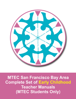 MTEC San Francisco Bay Area Early Childhood Manuals Set - sku MTEC.EC - 1