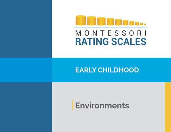 Montessori Rating Scale Early Childhood Environment - sku BK.72 - 1