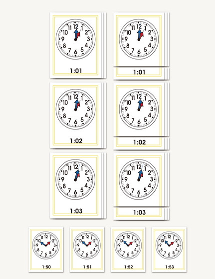 The Minute Clock - sku TP.02 - 1