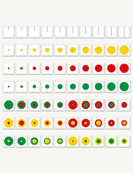 Cylinder Diameter Cards - sku SP.01 - 1