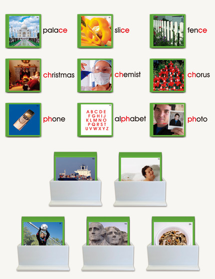 Phonogram Picture Cards - sku LAP.03G - 1
