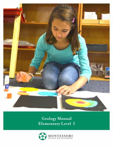 Geology Manual - sku ME.GEO - 1