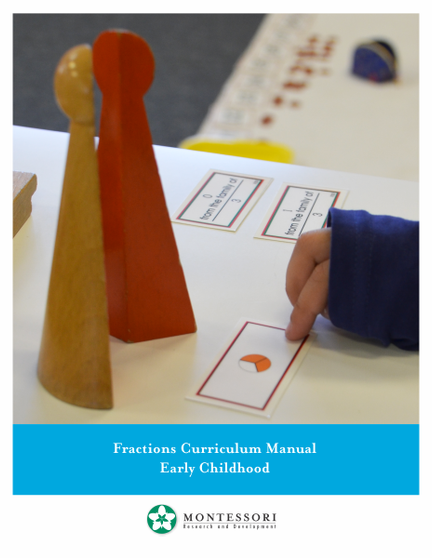 Fractions Curriculum Teacher Manual - sku MP.F - 1
