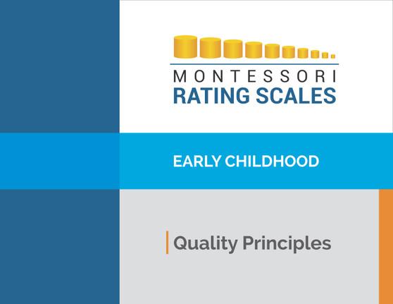 Montessori Rating Scale Early Childhood Quality Principles - sku BK.73 - 1
