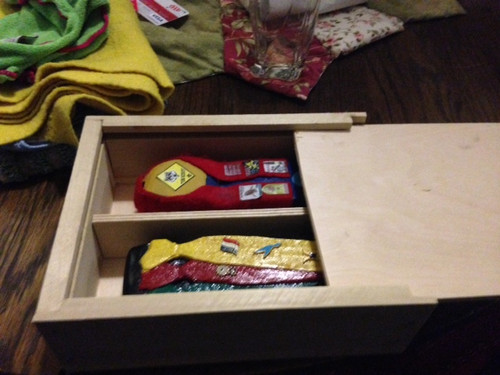 Derby Collection Box Scout Project kit 2 5/8 x 7 x 9