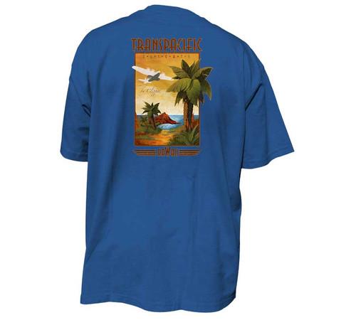 Trans Pacific Hawaiian T-Shirt   Tall Fit