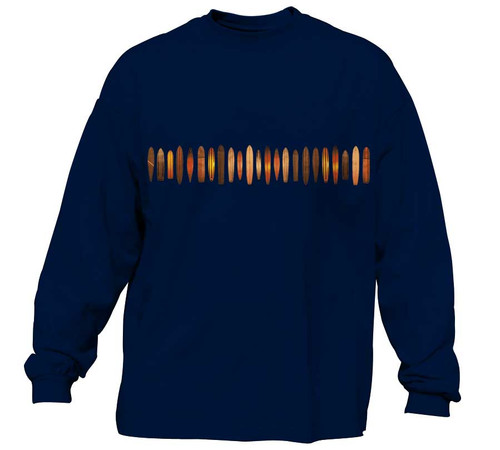 Old School Surf T-Shirt for Men - Long Sleeve