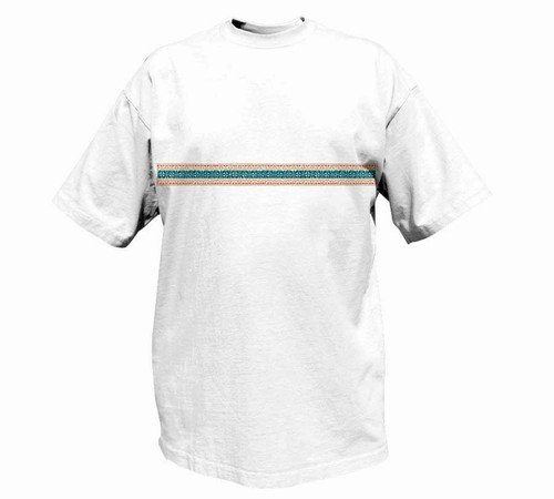 Tapa Stripe Heavy T-Shirt for Men | Tall Fit