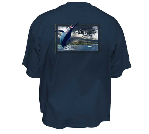 Charter Boats Men's Heavy T-Shirts | Classic Fit