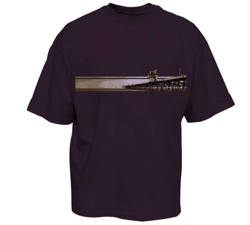 New eggplant color for The Pier graphic