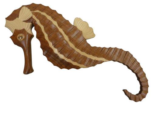 Aloha Wood Art - Seahorse
