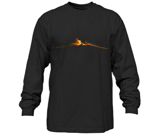 1-Flashback Long Sleeve Surfer T-Shirt | Pro-Fit