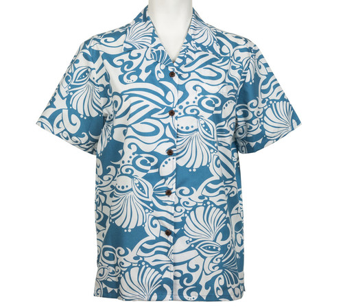 Lanikai Pareau Hawaiian Shirt